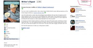 Writer's Digest FB Page