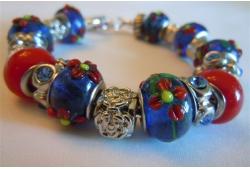 A Trish Silver Bracelet