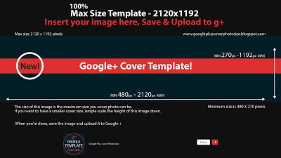 Max Size Template 2120x1192 100 percent Build a Google + Profile to Attract Readers